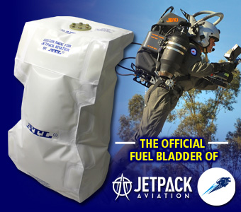 ATL is the Official Fuel Bladder of JetPack Aviation!