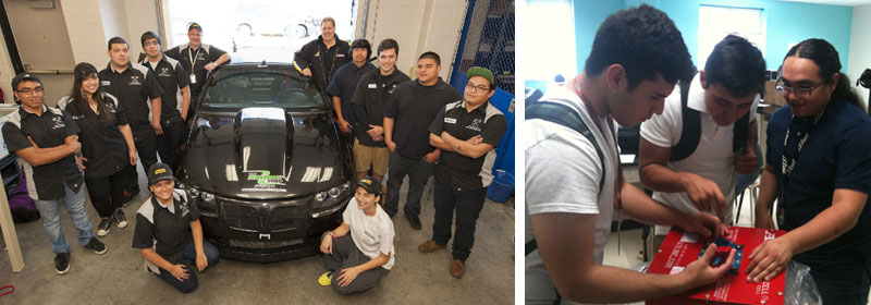 ATL Donates 5 Gallon Sports Cell to Chavez Motorsports Engineering Program