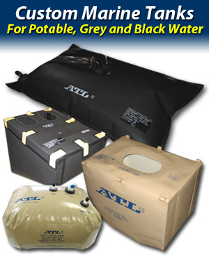 ATL Flexible Bladder Holding Tanks for Grey and Black Water
