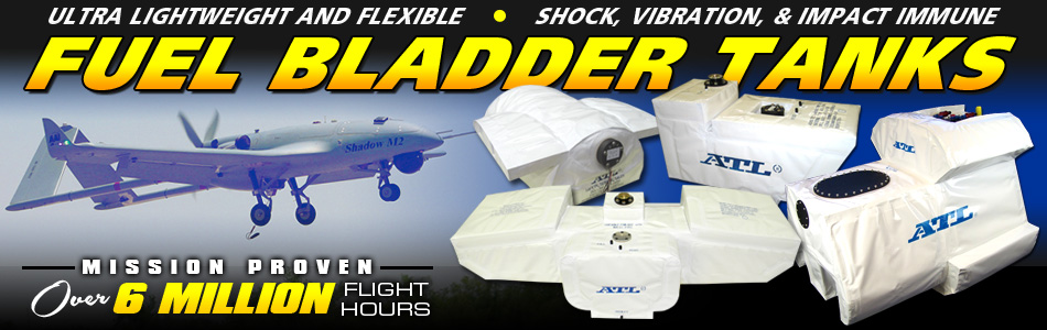 ATL UAV Fuel Bladder Tanks