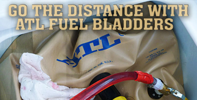 Go The Distance with ATL Fuel Bladders!